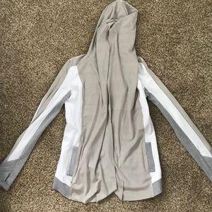 Blanc Noir Size Small Drape Hoodie / Cardigan
